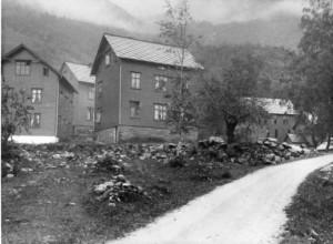 Arbeidarbustader Hovland før 1914