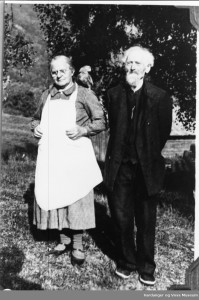 Brita og Per L. Aga
