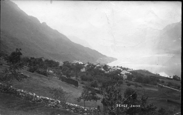 Sekse øvre 1910, fotog Torstein L lofthus