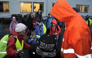 Amund Agasøster og Ellen Nydal Sekse sytte for tryggleiken.